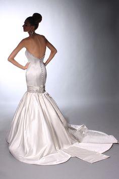 Victor Harper - Designer Bridal Gown - Style VH147 (back)