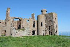 Slain's Castle in Scotland