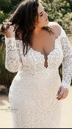 Plus Size Wedding Gowns, Wedding Dresses For Girls, Bridal Dresses, Curvy Bride, Couture Wedding Gowns, Looks Plus Size, Engagement Dresses, Curvy Dress, Marie