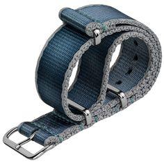 ZULUDIVER Iridescent Linen Weave NATO   ZULUDIVER   WatchGecko