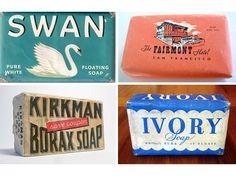 Vintage soap packaging