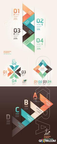 Modern origami infographics and web design » Download Graphic GFX Stock Vector Image PSD Sources Tutorials Latest Modern Web Designs. http://webworksagency.com