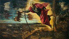 La Création des Animaux, Le Tintoret (1551)