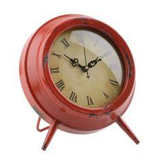 Red Colorburst Tabletop Clock | Kirklands