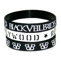 Black Veil Brides Tres 3 rubber brace... $9.95