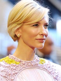 Cate Blanchett at the Academy Awards...