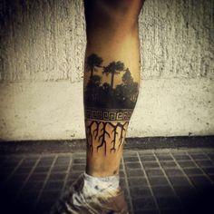 Resultado de imagen de tatuaje araucaria