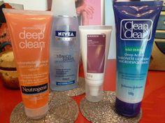 Ordem dos produtos para pele