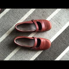TevaComfy & Cute Mary Janes! These rust colored Tevas are fun, cute & sooo comfy! They are in great shape! Very slight marks on the toes. Only because I wore them a few times. Adds character, I think!!! price reflected. Teva Shoes Flats & Loafers