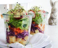 Schicht-Salat