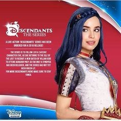 I don't know how true this is, but this would be a nice filler till a Descendants 3 (maybe!?)