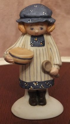 1983 Enesco County Fair Collection Polly by MoonbearConnections