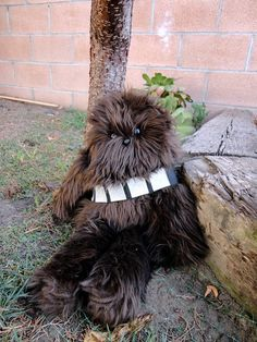 Handmade Star Wars Chewbacca Stuffed Plush Animal by Windsday,
