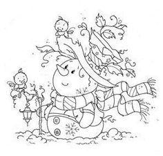 Christmas Drawing, Christmas Paintings, Christmas Paper, Christmas Colors, Christmas Coloring Pages, Coloring Book Pages, Diy Xmas, Silkscreen, Snowman