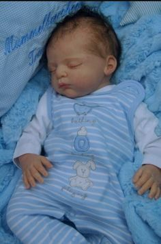 Boy reborn baby