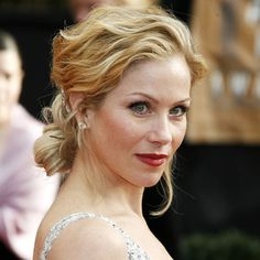 Christina Applegate hair and flawless light skin