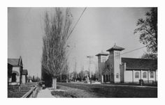Stake center where I was baptized. Payson Historical Society: Nebo Stake Tabernacle and Tithing Office--1908--Ph...