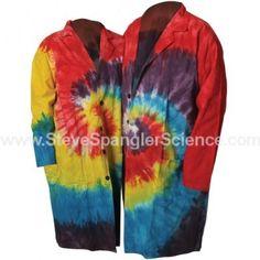 Tie Dye Lab coat from Steve Spangler Science