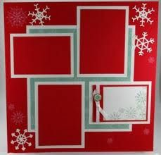 Christmas Scrapbook Layout with Snow Swirled - Christmas Scrapbook Layout with Snow Swirled - Christmas Scrapbook Layouts, Scrapbook Paper Crafts, Christmas Layout, Simple Christmas, Halloween Scrapbook, Winter Christmas, Christmas Decor, Scrapbook Layout Sketches, Scrapbook Templates