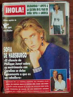 Hola 2206 27/11/86 Sofia De Habsburgo Myriam De La Sierra - $ 49,50