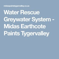 Water Rescue Greywater System converts household waste water from the shower and kitchen to recycled grey water. Grey Water System, Water Rescue, Recycling, Recyle, Repurpose, Upcycle