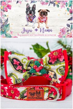 Bow Tie Collar, Dog Bowtie, Christmas Dog, Dog Harness, Bows, Gifts, Arches, Presents, Bowties