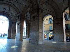 Atrio d'ingresso del Palazzo Gambacorti