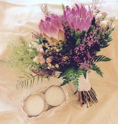 Ramo de novia con flor safari  #sitgeswedding #wedding #floral #floweshop #flowershopsitges #flowerarrangement #sitges #bodasitges #arreglosflorales #flores #flors #bridalbouquet #casaments #bodas #bride