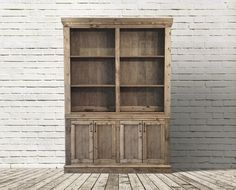 RH Inspired Shanty Sideboard & Hutch  Finish Used:  1 coat of Minwax Weathered Oak, then 1 coat of Minwax Special Walnut.