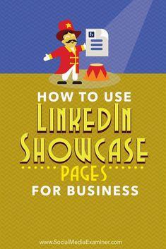 LinkedIn showcase pa