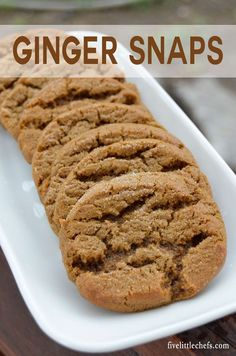 Ginger Snaps is the perfect recipe to bring to a summer BBQ. This is a dessert your friends will be asking for again.