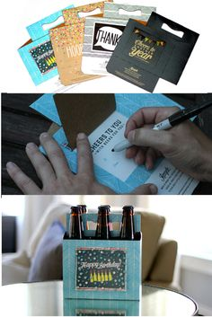 Beer Greetings | the best way to gift beer. Buy a Beer Greetings carrier. Write custom message on the attached card. Fill with beer. Easy, Thoughtful + Original. Great for birthdays, housewarmings, graduations, craft beer lovers, thank you gifts, groomsmen gifts, favors, anniversaries, wedding hotel guests welcome bags + more. Made in the USA.