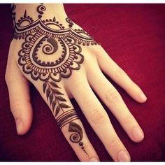 (1) 40 Delicate Henna Tattoo Designs   Henna, Henna Tattoos and Henna... ❤ liked on Polyvore featuring accessories