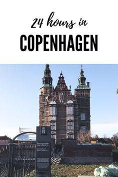 24 hours in Copenhagen (Denmark)