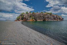 Black Beach Lake Superior Silver Bay Minnesota