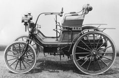Chicago World's Fair 1893. This was the final world's fair before the bicycle, motorcycle and car were commonplace. Only one automobile was exhibited, the 1.8 hp Daimler.