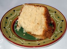 TEXAS Coconut Pound Cake - Just made it - my sweet neighbor and my sweet husband both loved it! I let everything come to room temp before I started and let it bake at about 350. My oven is old so it fluctuates a LOT.