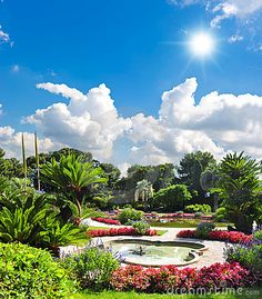 Photo about Beautiful mediterranean garden. french riviera, Nice, Cote d Azur. Image of decoration, garden, orangerie - 23217037 Monuments, Places Around The World, Around The Worlds, Stock Image, Ferrat, Mediterranean Garden, Nice France, Beautiful Places, Amazing Places