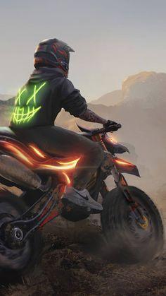 Motocross Girls, Grand Theft Auto Series, Best Motorbike, Motorcross Bike, Hacker Wallpaper, Hd Phone Wallpapers, Anime Galaxy, Bike Photography, Cute Patterns Wallpaper