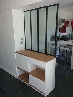 Meuble cuisine chez ikea : cube pour rangement ouvert et fermé