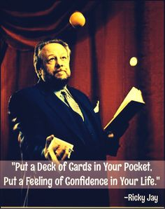 Ricky Jay Ricky Jay, Best Magician, Magical Quotes, Magic Illusions, Magic Show, Biographies, Concert Posters, Hocus Pocus, Creative Inspiration