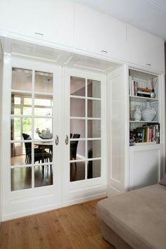 Mooie deuren met smalle strook onderaan