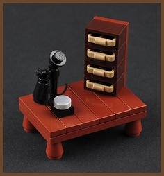 The Telephone (H. P. Lovecraft's Study) by Xenomurphy, via Flickr
