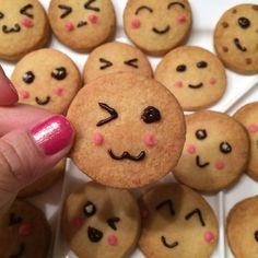 Cuteness kawaii koekjes. Oh zo yummy!