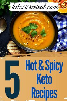 Spicy food lovers who follow the Keto Diet, rejoice! Ketosis Revival shows you that you can keep your favorite spicy foods and still stick to this way of eating which will still help you maintain ketosis and keep burning off fat and achieve your weight loss goals. Isn't it great to be following a food plan that actually permits foods instead of paring down the list? For starters, we offer a list of 5 delicious hot and spicy recipes to enjoy. Download here… #ketodiet #hotspicyketo #ketorecipe Spicy Recipes, Keto Recipes, Lunch Recipes, Vegetarian Recipes, Healthy Recipes, Weight Loss Goals, Weight Loss Program, A Food, Meal Planning