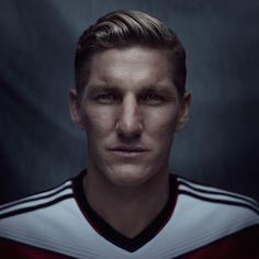 Image shared by faithacedia. Find images and videos about germany and bastian schweinsteiger on We Heart It - the app to get lost in what you love. Bastian Schweinsteiger, We Are The Champions, Fifa World Cup, Pictures To Draw, Soccer Players, My Passion, Football, People, Portraits