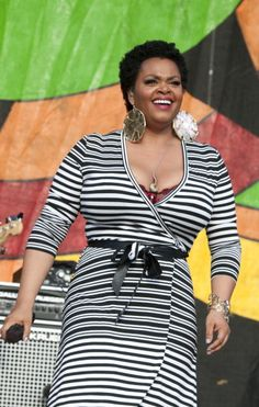 Jill Scott at the NOLA Jazz Festival