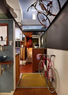 Thoughtful Interior of 182 Square Foot Basement Apartment | DigsDigs