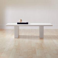 Coated Resin Coffee Table   CB2 Mirrored Coffee Tables, Black Coffee Tables, Modern Coffee Tables, Living Furniture, New Furniture, Furniture Design, Furniture Layout, Living Room Modern, Living Room Designs