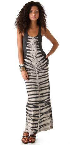 Raquel Allegra Tie Dye Maxi Dress   SHOPBOP